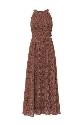 Sleeveless Polka Dot Dress by Adrianna Papell