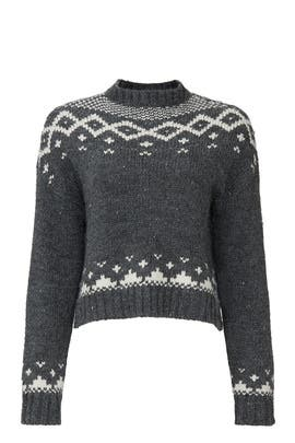 Fair Isle Jasmine Sweater by cupcakes and cashmere