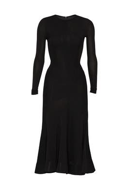 Long Sleeve Full Circle Dress by Esteban Cortazar