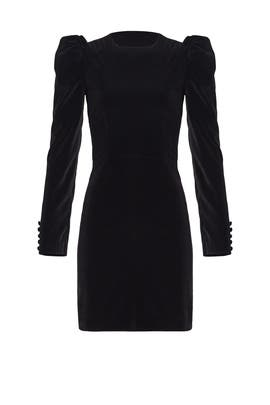 Black Velvet Dress by Jill Jill Stuart