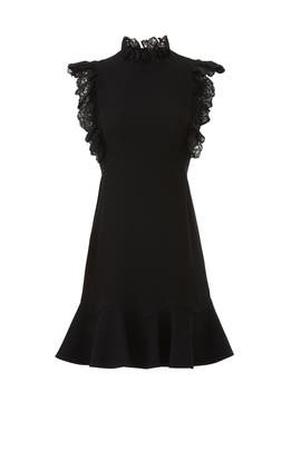 Flutter Sleeves Lace Dress by Rebecca Taylor