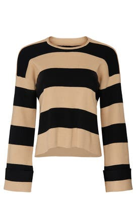 Hubble Stripe Sweater by Show Me Your Mumu