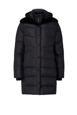Gill Puffer Maternity Coat by A Pea in the Pod