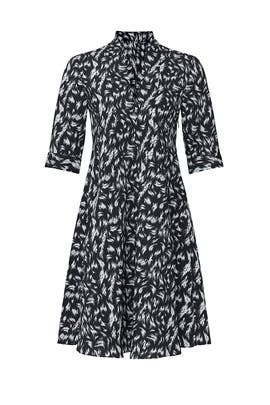 Feather Scarf Neck Dress by Derek Lam Collective