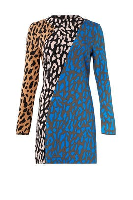 Leopard Printed Dress by Diane von Furstenberg