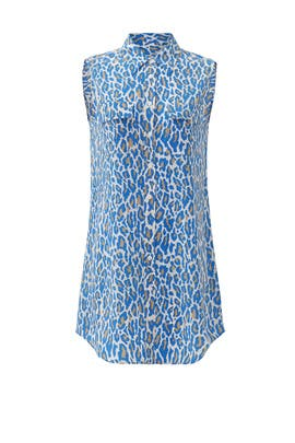 Cheetah Slim Signature Dress by Equipment