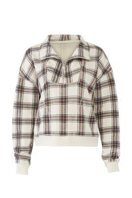 Why Not Zip Sweatshirt by Free People