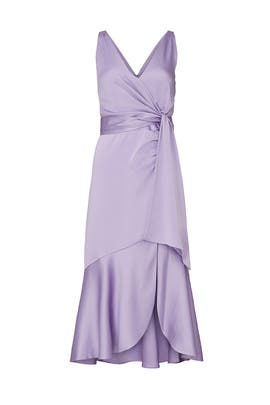 Mia Fluid Satin Dress by Jonathan Simkhai