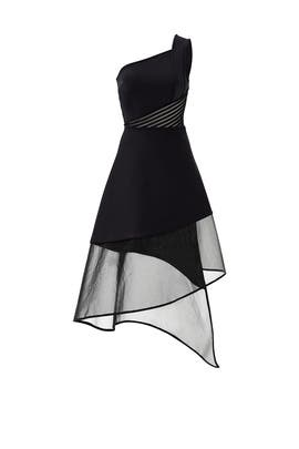 Crossed Over Dress by David Koma