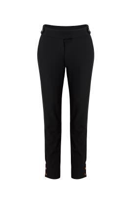 Black Straight Pants by Rachel Zoe