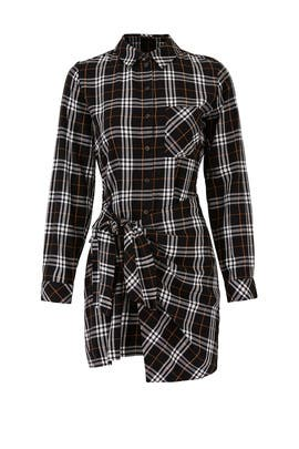 Rebel Plaid Ani Shirtdress by Sanctuary