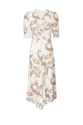 White Paisley Dress by See by Chloe
