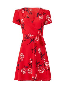 Kennedy Wrap Dress by Yumi Kim