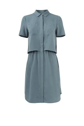 Green Esther Pocket Dress by Cooper & Ella
