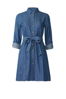 Chambray Shirtdress by Draper James