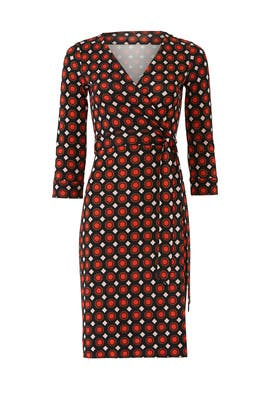 New Julian Wrap Dress by Diane von Furstenberg