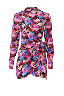 Floral Sleeved Sheath by PINKO