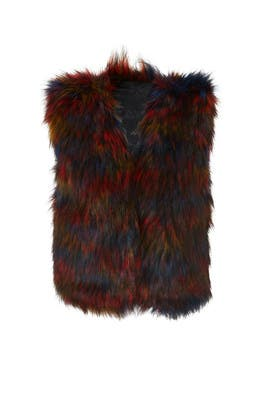 Ramos Faux Fur Vest by RAGA