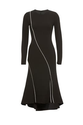 Midi Long Sleeve Dress by RACHEL ROY COLLECTION