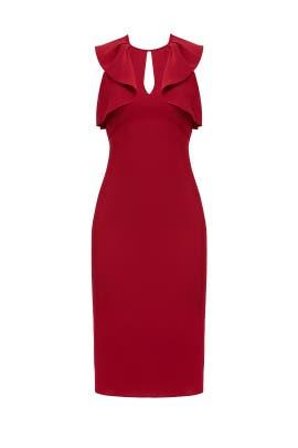 Red Darwin Dress by Shoshanna