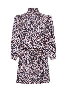 Leopard High Neck Dress by Zadig & Voltaire