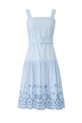 Blue Embroidered Dress by Draper James