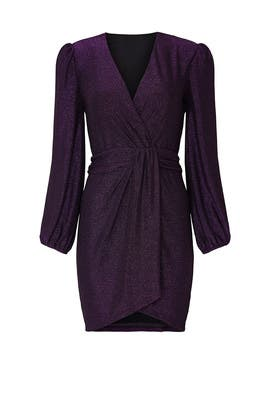 Holliday Wrap Dress by Saylor