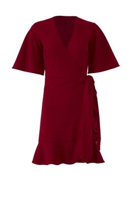 Natalia Wrap Dress by STYLESTALKER