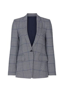 Borrem Plaid Blazer by Club Monaco