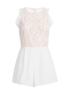 White Lily Romper by Keepsake