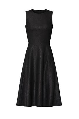 Black Metallic Charley Dress by Lauren Ralph Lauren