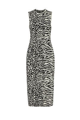 Animal Mix Dress by Proenza Schouler White Label