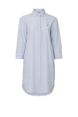Pinstripe Shirtdress by Sundry
