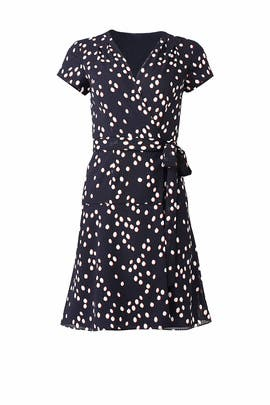 Polka Dot Wrap Dress by Slate & Willow