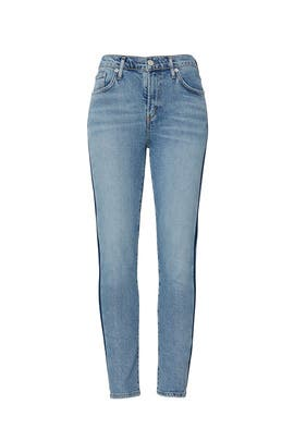 Swerve Toni Mid Rise Jeans by AGOLDE