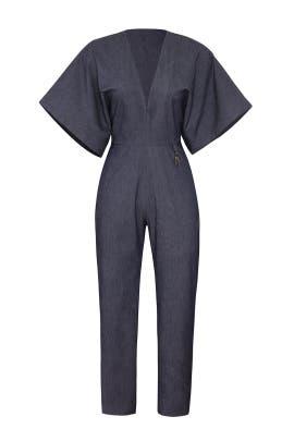 Kimono Sleeved Jumpsuit by Cushnie
