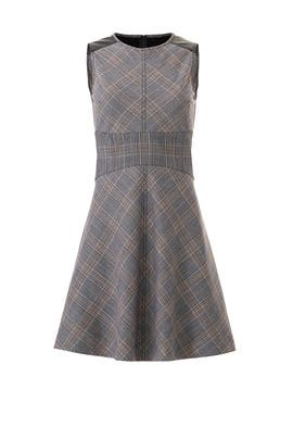 Plaid Corset Waist Dress by Derek Lam 10 Crosby