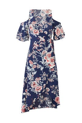 Floral Devon Wrap Dress by Flynn Skye