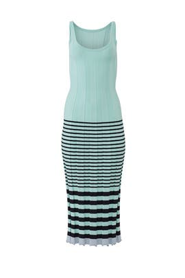 Knit Striped Maxi by Jason Wu