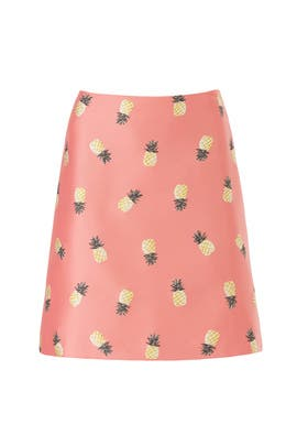 Pineapple Jacquard Skirt by kate spade new york