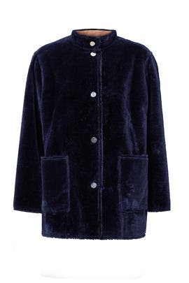 Blue Culver Coat by Opening Ceremony