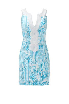 La Via Loca Valli Shift Dress by Lilly Pulitzer