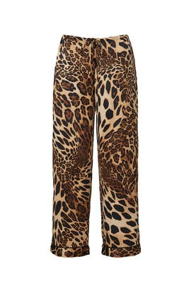 Luxe Leopard Pajama Pants by Natori