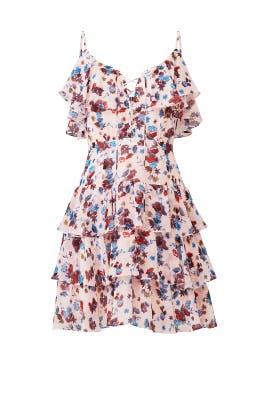 Marla Ruffle Dress by Rebecca Minkoff