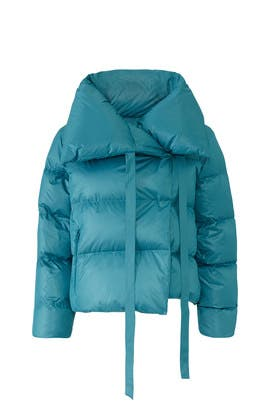 Blue Puffa Jacket by Bacon