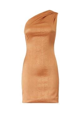 Valentina Python Mini Dress by HANEY