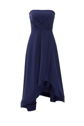 Navy Estella Dress by Shoshanna