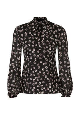 Emma Bow Blouse by Tory Burch