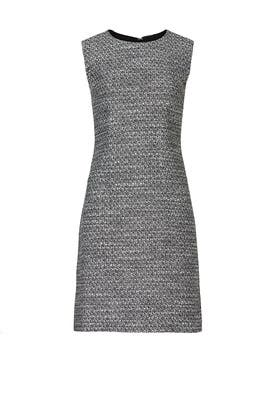 Black Tweed Sheath by Adam Lippes Collective