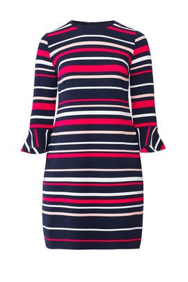 Stripe Ottoman Dress by Draper James X ELOQUII